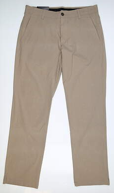 New Mens Under Armour Straight Pants 38 x32 Tan MSRP $80 UM8813