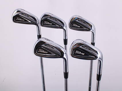 Titleist 716 AP2 Iron Set 6-PW Dynamic Gold AMT S300 Steel Stiff Right Handed 37.25in