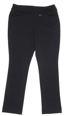 New Womens Nivo Sport Norah Golf Pants 10 Black MSRP $98 NI9210421