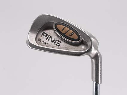 Ping i3 Blade Single Iron 6 Iron Ping Z-Z65 with Cushin Insert Steel Stiff Right Handed White Dot 37.25in