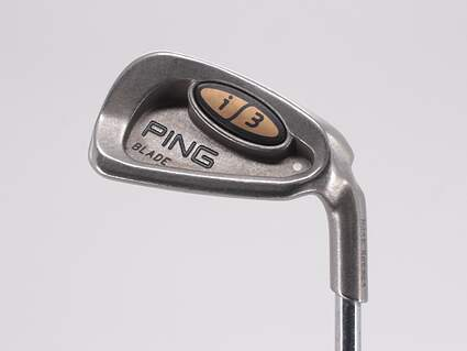 Ping i3 Blade Single Iron 7 Iron Ping Z-Z65 with Cushin Insert Steel Stiff Right Handed White Dot 36.75in