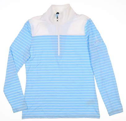 New W/ Logo Womens Footjoy 1/4 Zip Pullover Small S Multi MSRP $110 27569