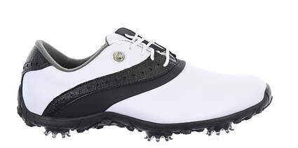 New Womens Golf Shoe Footjoy LoPro Collection Medium 7.5 White/Black MSRP $100 93927