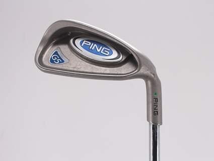Ping G5 Single Iron 6 Iron Stock Steel Shaft Steel Regular Right Handed Green Dot 37.25in