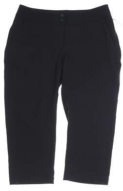New Womens Tail Modern Fit Capris 6 Black MSRP $95 GX4310