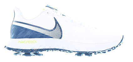 New Mens Golf Shoe Nike React Infinity Pro Medium 9.5 White/Blue MSRP $120 CT6620 100