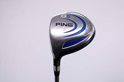 Ping G5 Fairway Wood 3 Wood 3W 15° Ping TFC 100F Graphite Regular Left Handed 42.75in