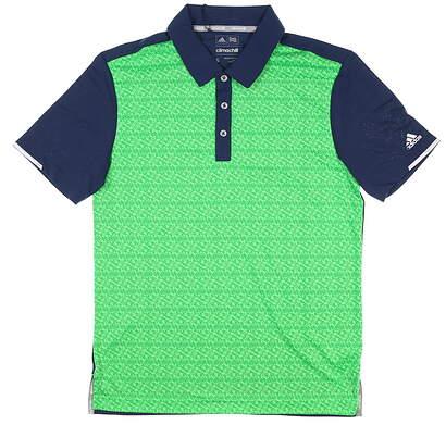New Mens Adidas Golf Polo Small S Green MSRP $80 BC2983
