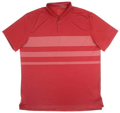 New Mens Nike Polo X-Large XL Red MSRP $65 CI7903-609
