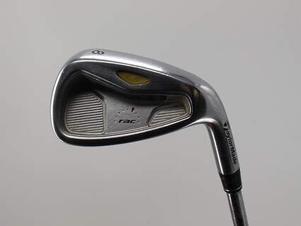 TaylorMade Rac LT 2005 Single Iron 8 Iron 39° Rifle Flighted 6.5 Steel Stiff Right Handed 36.0in