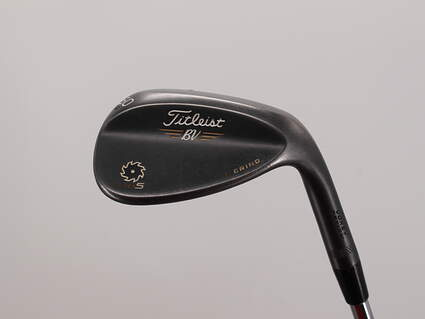 Titleist Vokey SM5 Raw Black Wedge Lob LW 60° 4 Deg Bounce L Grind Titleist SM5 BV Steel Wedge Flex Right Handed 35.0in