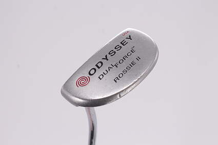 Odyssey Dual Force Rossie 2 Putter Face Balanced Steel Left Handed 35.0in
