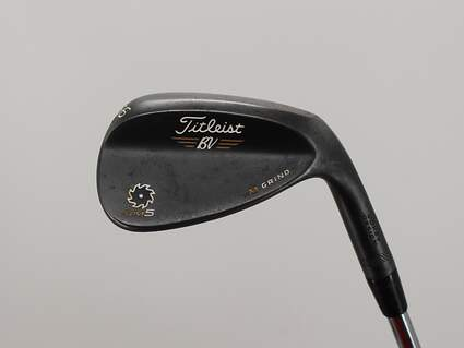 Titleist Vokey SM5 Raw Black Wedge Sand SW 56° 10 Deg Bounce M Grind Titleist SM5 BV Steel Wedge Flex Right Handed 35.25in
