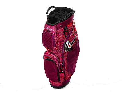 Brand New Sun Mountain Diva Purple/Black/Titanium Cart Bag Ships Today!