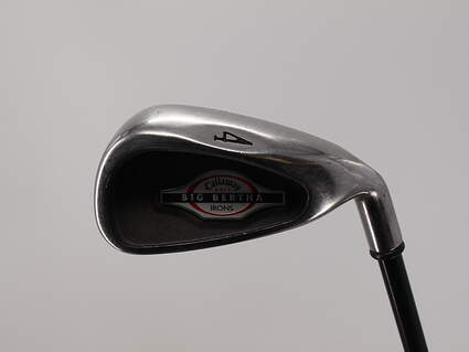 Callaway 2002 Big Bertha Single Iron 4 Iron Callaway RCH 75i Graphite Regular Right Handed 39.5in