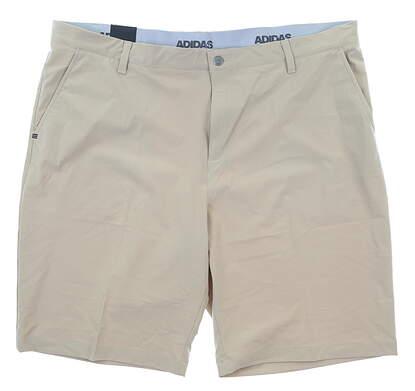 New Mens Adidas Ultimate 365 Shorts 42 Tan MSRP $65 CE0457