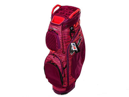Brand New Sun Mountain Diva Plum/Tulip/Flurry Cart Bag Ships Today!