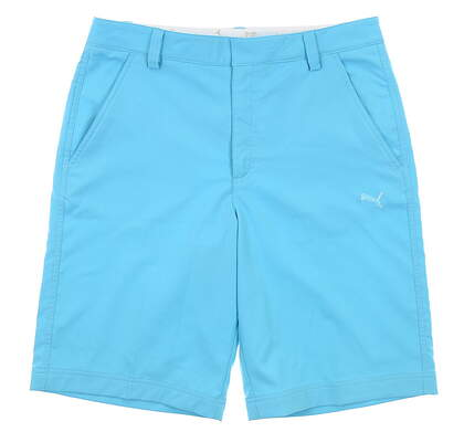 New Mens Puma Golf Tech Shorts 34 Blue Atoll MSRP $65 562650