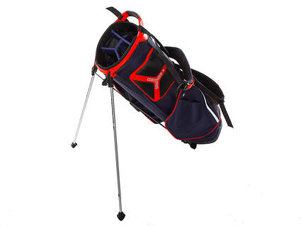 Brand New Sun Mountain Collegiate Navy/White/Red Stand Bag Ships Today!