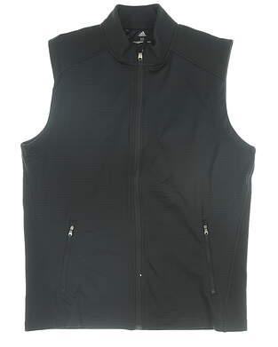 New Mens Adidas Vest Medium M Black MSRP $80 CY9370