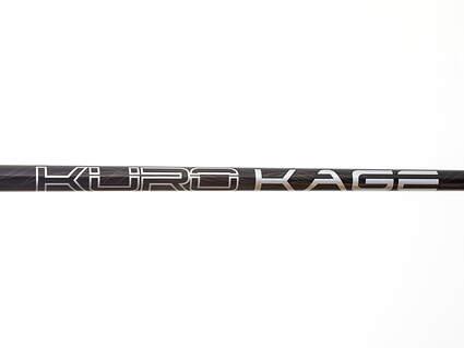 Used W/ Adapter Mitsubishi Rayon Kuro Kage Black TiNi Fairway Shaft Senior 41.25in