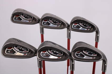 Ping K15 Iron Set 6-PW SW Ping TFC 149I Graphite Regular Right Handed White Dot 37.5in