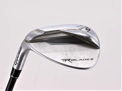 TaylorMade Rocketbladez Wedge Sand SW 55° 10 Deg Bounce TM Matrix RocketFuel 65 Graphite Stiff Left Handed 35.75in