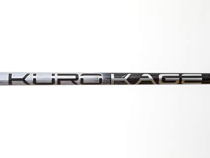 Used W/ Adapter Mitsubishi Rayon Kuro Kage Silver Dual Core Driver Shaft Regular 44.25in