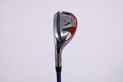 Nike Victory Red Pro Hybrid 3 Hybrid 21° Project X 6.0 Graphite Graphite Stiff Left Handed 40.5in