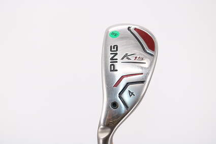 Ping K15 Hybrid 4 Hybrid Ping TFC 149H Graphite Senior Left Handed Orange Dot 40.75in