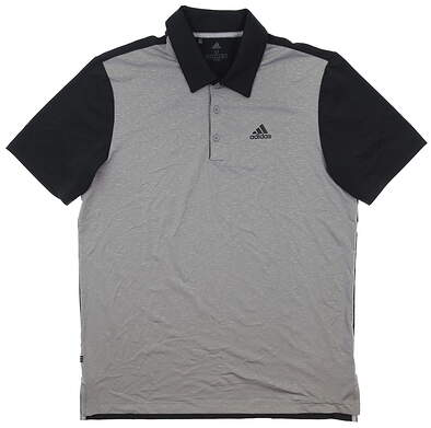 New Mens Adidas Golf Polo Medium M Multi MSRP $65
