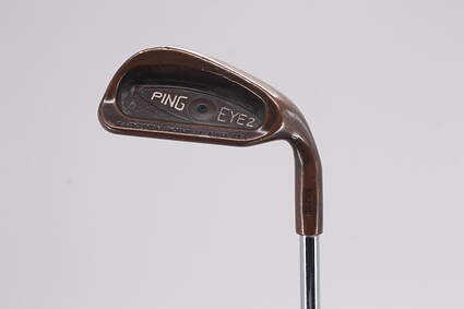 Ping Eye 2 Beryllium Copper Single Iron 8 Iron Ping ZZ Lite Steel Stiff Right Handed Black Dot 36.5in