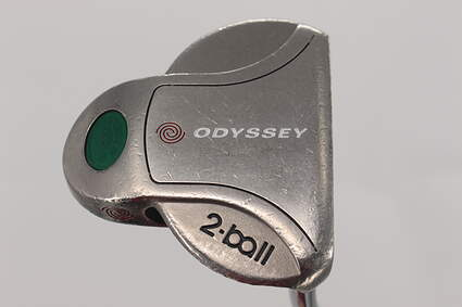 Odyssey White Steel 2-Ball Mid Putter Steel Right Handed 34.75in