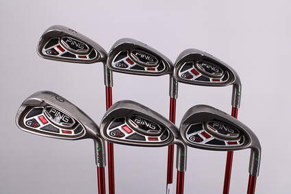 Ping G15 Iron Set 6-PW SW Ping TFC 149I Graphite Regular Right Handed Green Dot 36.5in