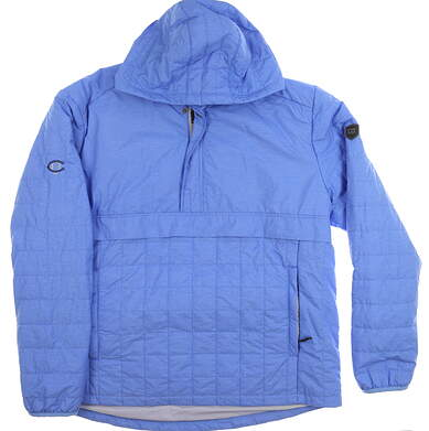New W/ Logo Mens Cutter & Buck Popover 1/4 Zip Jacket X-Large XL Blue MSRP $124 MCO00030