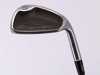 Titleist DTR Wedge Sand SW 54° True Temper Steel Stiff Right Handed 35.5in