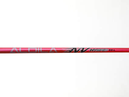 Used W/ Adapter Aldila NVS Pink Hybrid Shaft Ladies 38.0in