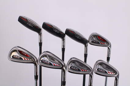 Adams Idea A3 Iron Set 3H 4H 5H 6-PW True Temper Player Lite Steel Stiff Right Handed 38.0in
