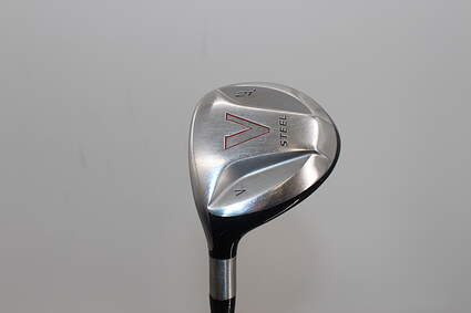 TaylorMade V Steel Fairway Wood 7 Wood 7W 21° True Temper Dynamic Gold S300 Steel Stiff Left Handed 41.5in