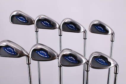 Callaway X-16 Iron Set 3-PW Callaway Stock Steel Steel Uniflex Right Handed 37.75in
