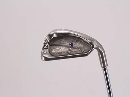 Ping ISI K Single Iron 9 Iron Ping JZ Steel Stiff Right Handed Blue Dot 36.0in