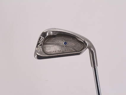 Ping ISI K Single Iron 8 Iron Ping JZ Steel Stiff Right Handed Blue Dot 36.5in