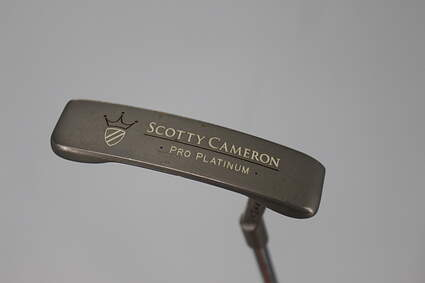 Titleist Scotty Cameron Pro Platinum Newport Mid Slant Putter Steel Right Handed 32.75in