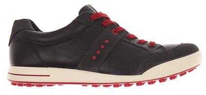 New Mens Golf Shoe Ecco Street Retro EU 43 (9-9.5) Black MSRP $140 03918456497