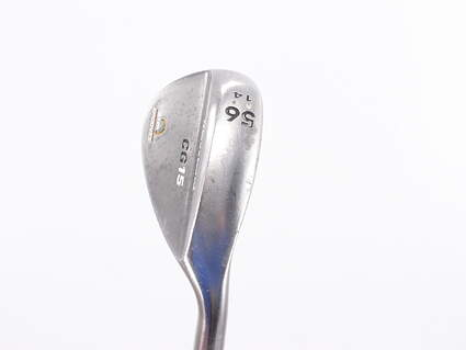 Cleveland CG15 Black Pearl Wedge Sand SW 56° 14 Deg Bounce Cleveland Traction Wedge Steel Wedge Flex Right Handed 34.75in