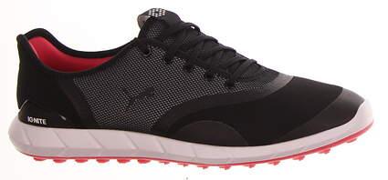 New Womens Golf Shoe Puma IGNITE Statement Low Medium 9 Black MSRP $100 190578 01