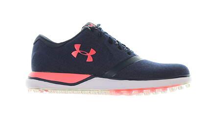 New Womens Golf Shoe Under Armour UA Performance SL Sunbrella 7.5 Blue MSRP $130 3020112-400