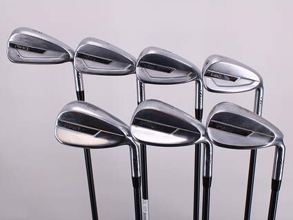 Ping G700 Iron Set 6-PW GW SW Ping TFC 80i Graphite Senior Right Handed Blue Dot 37.75in
