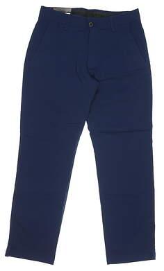 New Mens Under Armour Golf Pants 32 x30 Navy Blue MSRP $80 UM8811