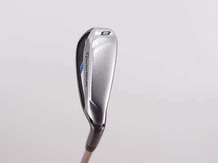 TaylorMade Speedblade Single Iron 8 Iron Stock Steel Shaft Steel Stiff Right Handed 38.0in